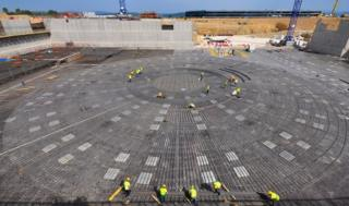 Tokamak construction Iter