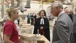 Prince Charles at York Minster