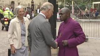 Prince Charles at York Minster