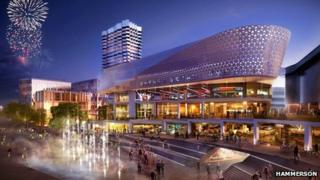 The Watermark WestQuay development