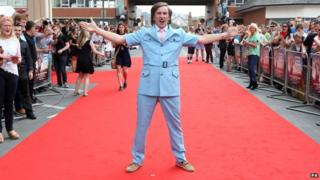 Partridge on the red carpet