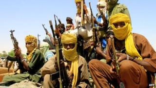 Jem rebels from Darfur, Sudan, pictured in July 2011