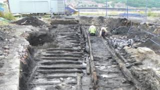 Waggonway found in Walker, Newcastle