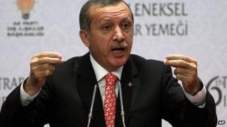 Turkish Prime Minister Recep Tayyip Erdogan. 18 July 2013