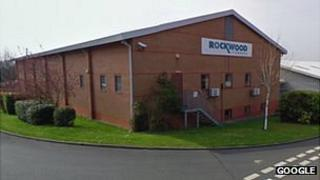 Rockwood Pigments factory in Sudbury