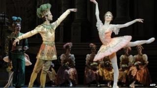 Bolshoi Ballet dancers