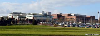 Stafford Hospital in February 2013