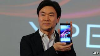 The newly launched the new Xperia Z ultra waterproof smartphone