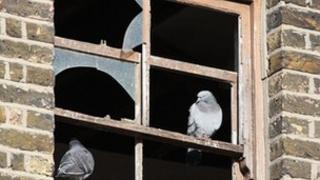 Dilapidated empty house - generic
