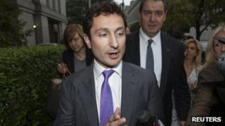 Fabrice Tourre leaving court