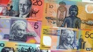Australia bank notes