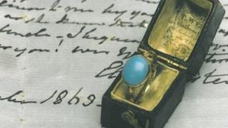 Ring owned by Jane Austen