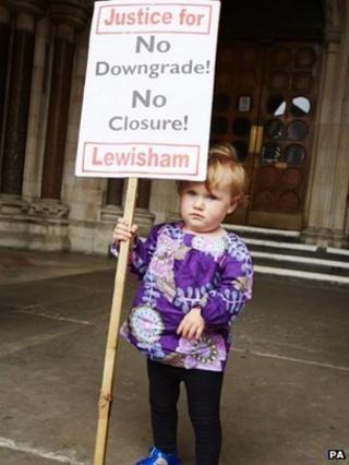 Lewisham Hospital protest