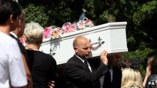 Funeral of Tonibeth Purvis