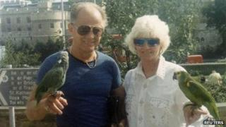"""This undated photo filed in federal court documents in Boston by defence attorneys for James """"Whitey"""" Bulger 31 July 2013"""