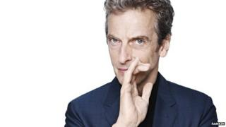 Peter Capaldi as the new Doctor