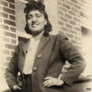 1940s photo made available by the family shows Henrietta Lacks