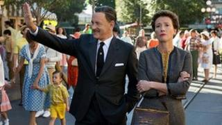 Tom Hanks and Emma Thompson in Saving Mr Banks