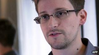 Edward Snowden. 6 June 2013