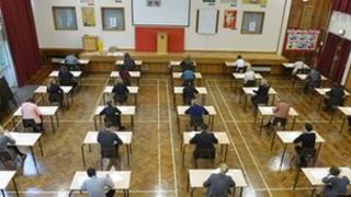 A level exams