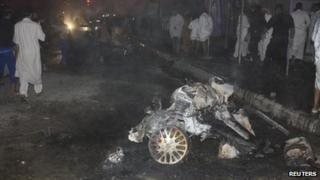Bomb attack in Nasiriya, Iraq, 10 August