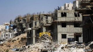 Construction in Beitar Ilit, near Bethlehem, 11 August