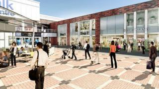 Artist impression of how Charter Walk will look