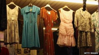 Clothes in Covent Garden