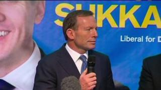 Australian Liberal Party leader Tony Abbott (August 12th 2013)