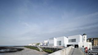 View of Turner Contemporary gallery