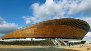 Olympic Velodrome, Stratford,