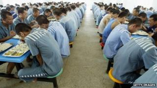 File photo: China prison