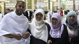 Ibrihim, Fatima, Omaima and Somaia Halawa were caught up in the mosque siege