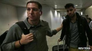 Glenn Greenwald (left) and his partner, David Miranda