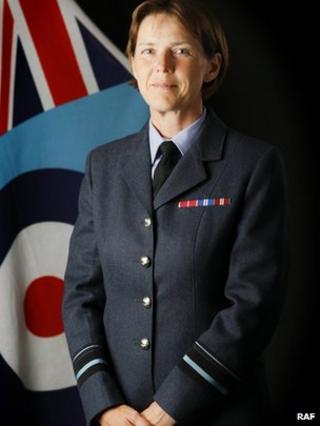 Air Vice-Marshal Elaine West
