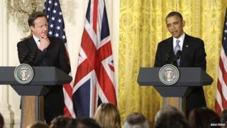 Cameron and Obama