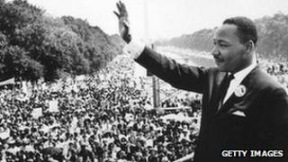 Dr King at the March on Washington