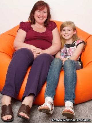 Emma and her mum