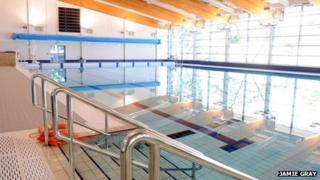Swimming pool at the centre