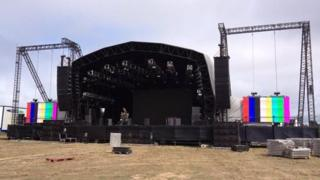 Jersey Live main stage