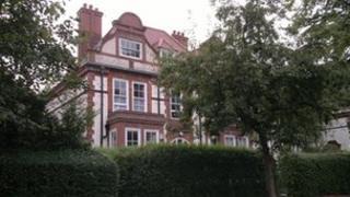 Grade II listed house designed by architect George Gilbert Scott Jr