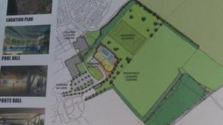 Leisure centre plans