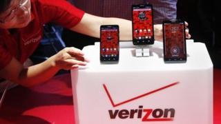 Phones on the Verizon network