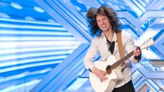 Fil Henley auditions on the X Factor