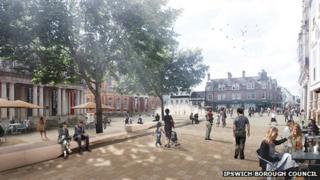 Ipswich Cornhill Concept B