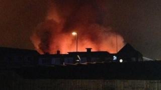 Fire in Eastwood Road