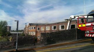 Fire in Eastwood Road