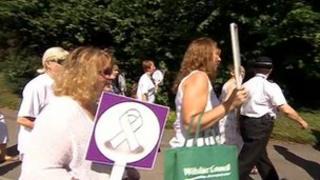 March in Trowbridge