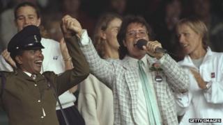 Cliff Richard in 1996
