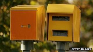 Speed cameras (file pic)